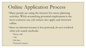 applying for employment ppt video online download