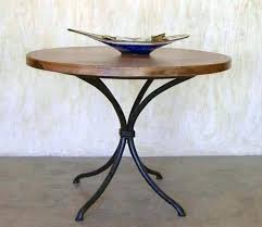 wrought iron pedestal table base iron pedestal table base excellent copper dining tables copper