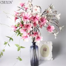 Branch Decorations For Home by Popular Magnolia Silk Flower Buy Cheap Magnolia Silk Flower Lots