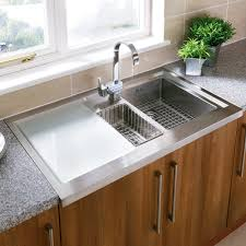 kitchen sinks wall mount undermount stainless steel square chrome