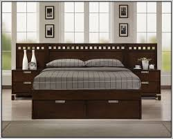 king size platform bed frame with storage plans storage decorations
