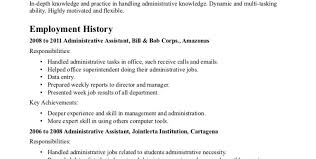 resume stunning ideas administrative cover letter 5 assistant