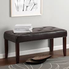 100 livingroom bench galileo black and white velvet modern