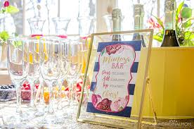 what do you put on a bridal shower registry how to create a bridal shower mimosa bar unoriginal