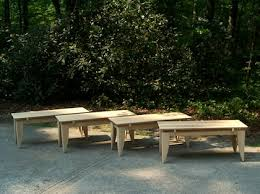 Outdoor Garden Bench Outdoor Garden Bench Handcrafted U2013 Backless Carolina Adirondack