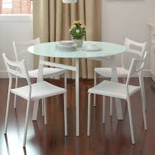 small white dining table decorating small white round table unusual dining tables white