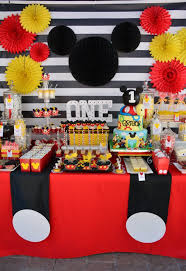 mickey mouse birthday party ideas mickey mouse 1st birthday party mickey mouse mice and birthdays