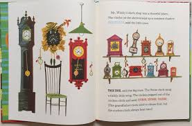 Grandfather Clock Song The Noisy Clock Shop By Jean Horton Berg And Art Seiden Picture