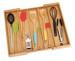 bamboo expandable utensil holder lipper international drawer bamboo expandable utensil holder lipper international drawer organizers
