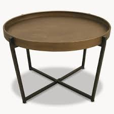 round hairpin coffee table round and industrial coffee tables notonthehighstreet com