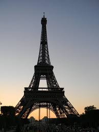 French Flag Eiffel Tower French Afternoon Sky Eiffel Tower Silhouette 1 5 By