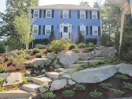 How To Landscape A Sloped Backyard - front yard hill landscaping ideas landscaping network