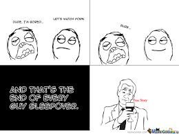 Sleepover Meme - guy sleepover by nanepie meme center