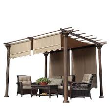Backyard Shade Canopy by Pergola Canopy And Shade For Menards Pergola Garden Winds
