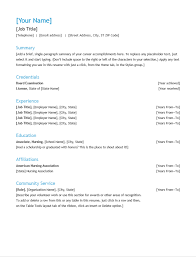 Resume With Community Service 23 Marketing Resume Templates For Ms Word To Save Hours Of Work