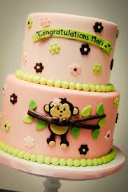 monkey baby shower cake baby monkey cake my sweet and saucy my sweet and saucy