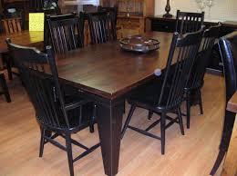 simple rustic wood dining table u2014 derektime design very