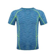Light Blue Tights Running Jersey Gym Model Body Shape Light Clothing Pressure