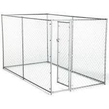 american kennel club 6 ft x 10 ft x 6 ft chain link kennel kit