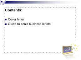 cover letters and business letters ppt video online download
