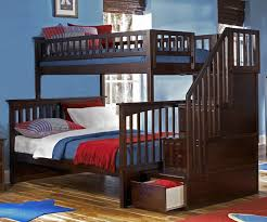 Boys Bunk Beds Columbia Staircase Bunk Bed Bedroom Furniture