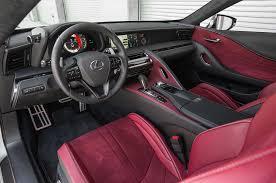 lexus lf lc interior 2018 lexus lc 500 interior detail motor trend