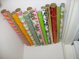 storing wrapping paper that s a wrap diy storage ideas for unruly wrapping supplies curbly