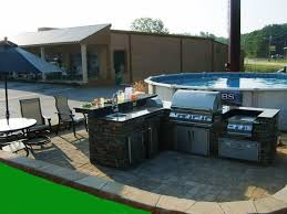 Outdoor Kitchen Ideas On A Budget Outdoor Kitchen On Budget With Concept Image Oepsym
