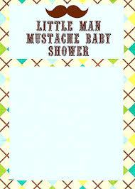 mustache baby shower invitations mustache baby shower invitations baby shower invitations fresh