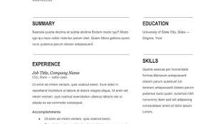 current resume trends current resume templates