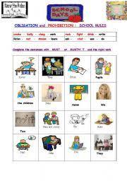 english worksheets must mustn u0027t worksheets page 17