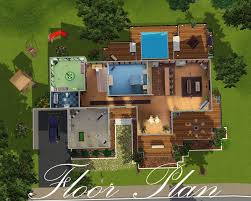 Glass House Plans by Mod The Sims The Glass House