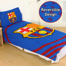 Electric Blue Duvet Cover Official Fc Barcelona Duvet Cover Sets Bedding Bedroom Football
