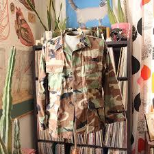 camo photo album vintage bad brains back patch camo jacket 1st album 80s