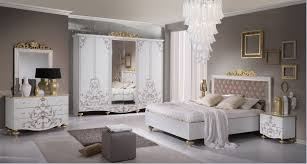 Schlafzimmerm El Weis Schlafzimmer Weiß Gold Rheumri Com