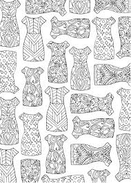 the portable coloring book fashion designs 31 stress