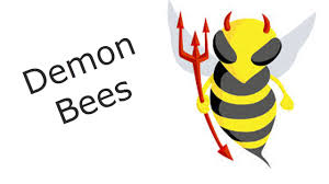 demon bees cut out from church youtube