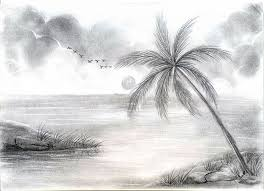 pencil for painting landscape pencil painting pencil and in color