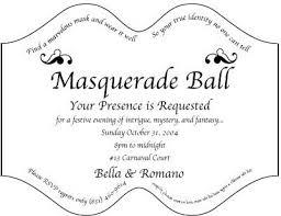 100 free masquerade ball invitation templates mardi gras