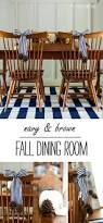 Brown Dining Room Fall Dining Room Decor