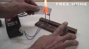 homemade electric fire lighter electric burner easy to do free