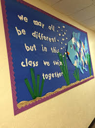 my rainbow fish bulletin board for march book month i put the