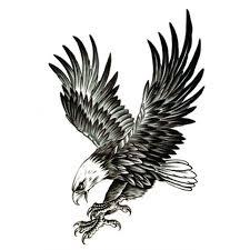 eagle tattoo clipart black and white eagle tattoo designs best image konpax 2017