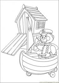 police boat coloring free andy pandy coloring pages