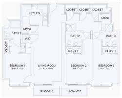 3 Bedroom Apartments Tampa by Skyhouse Channelside Rentals Tampa Fl Apartments Com