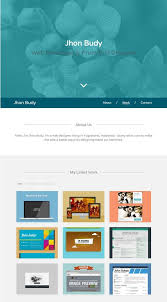 personal portfolio template 100 free responsive html5 css3 website templates web creative all