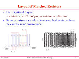 layout techniques definition analog layout design
