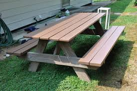 Picnic Table Plans Free Pdf by Round Picnic Table Plans Free Wooden Plans Arts And Crafts