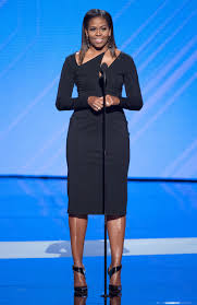 does michelle obama wear hair pieces michelle obama wore 20 000 of jewelry to 2017 espys