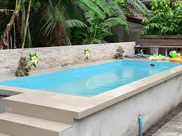Small Backyard Above Ground Pool Ideas Ordinary Above Ground Swimming Pools Marvellous Rectangle Above